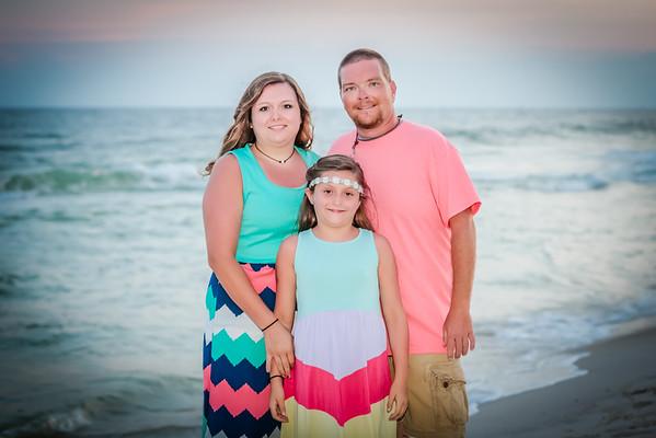 Casey Justina Beach Portraits
