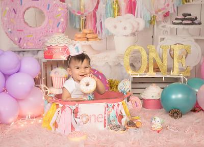 Raffaella's 1st Birthday