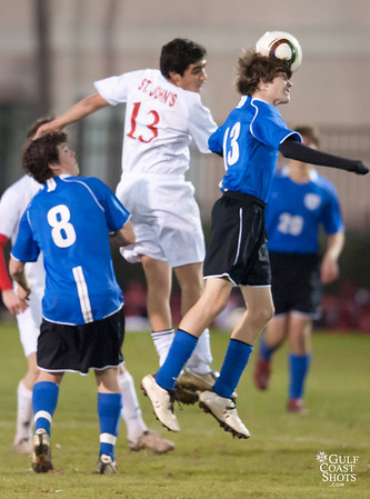 2011-01-21 Soccer Varsity Boys Episcopal @ SJS