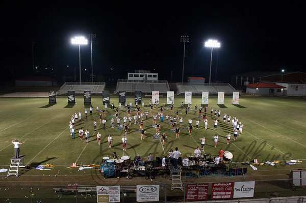 MCHS Marching Band - Oct 2012