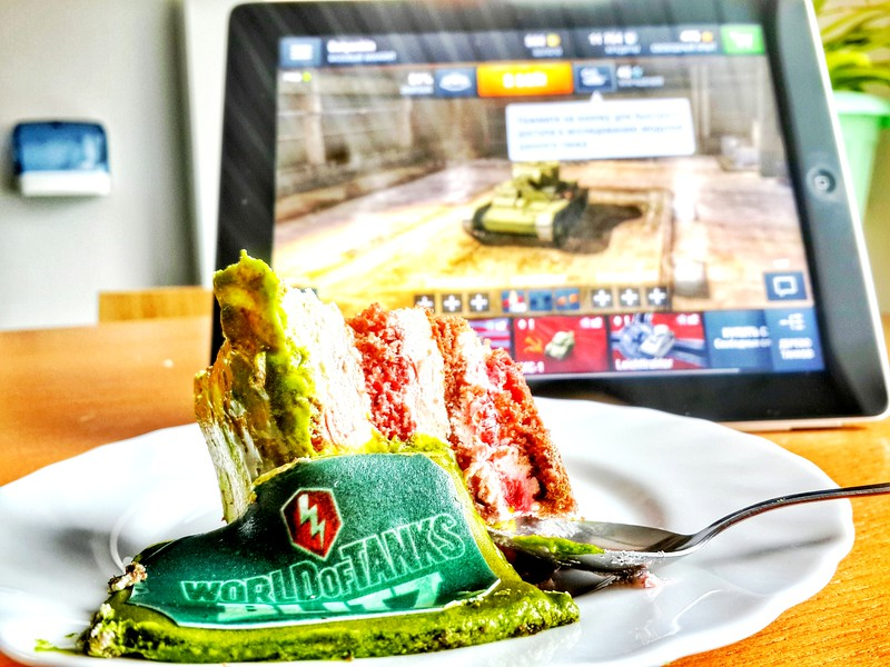 World of Tanks: Blitz cake