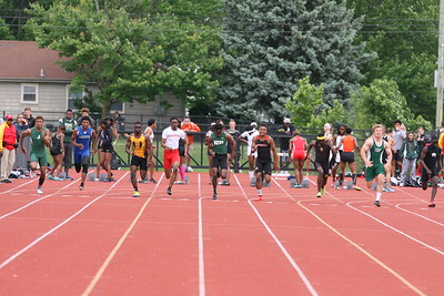 Boys 100M Final - 2018 MHSAA LP TF FINALS - DIVISION ONE