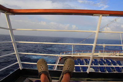 Day at Sea Nov 2 -Transatlantic Eastbound