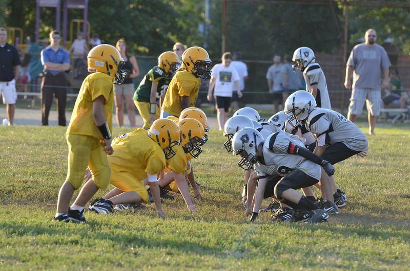 Wildcats vs Raiders Scrimmage 252.JPG