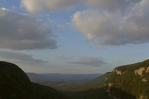 Sunset at Cloudland Canyon 10-17-08