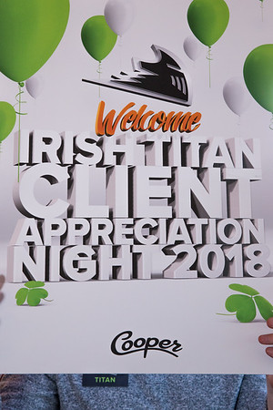 2018 Irish Titan Client Appreciation