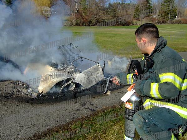 Golf Cart Fire, 4-2-2009
