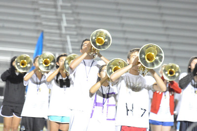Sept 15, 2011 Marching Band Rehearsal