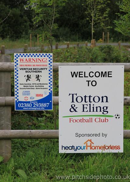 Totton & Eling 0 Newport IOW 0 - Wessex league - 8/8/12