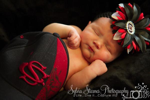 Mackenzie Kay Starnes Newborn Week One