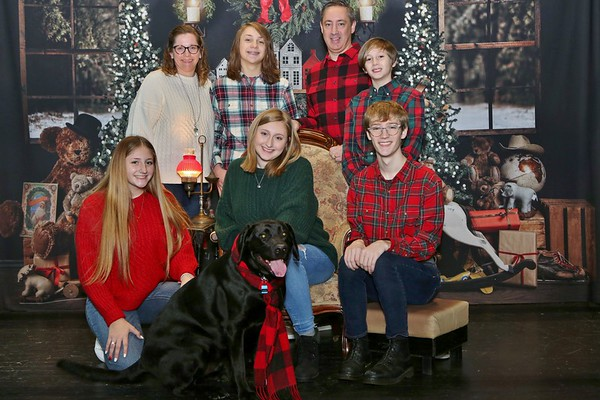 Dodds Family Christmas Photos