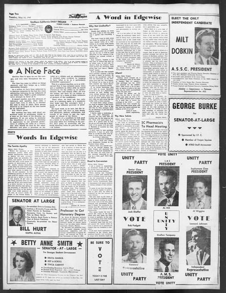 Daily Trojan, Vol. 39, No. 142, May 18, 1948