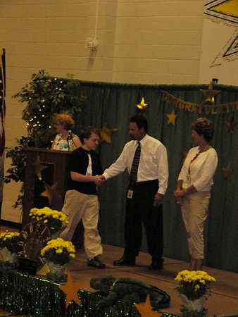 Ethan's 8th grade graduation