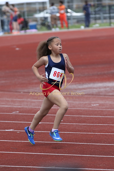 Champs: 8 & Under Girls 400M