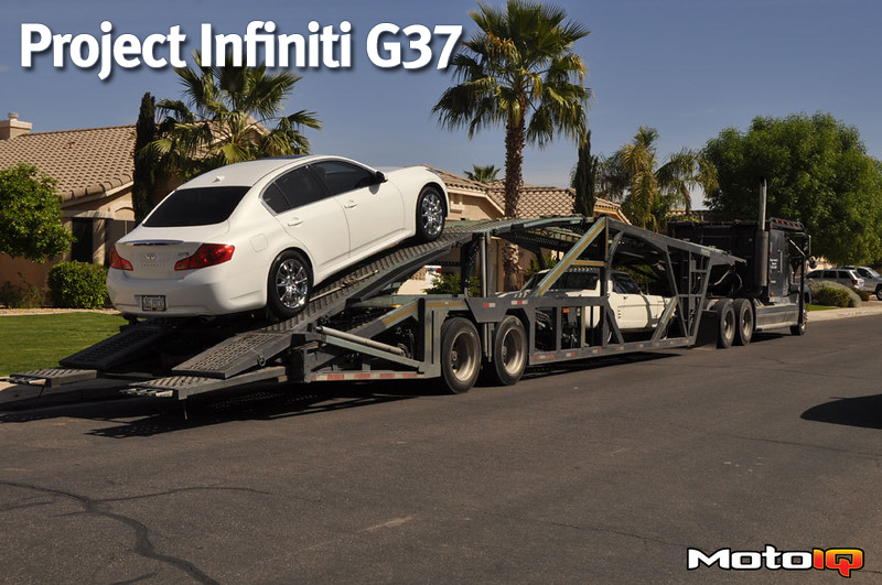 Project G37S Sedan Introduction