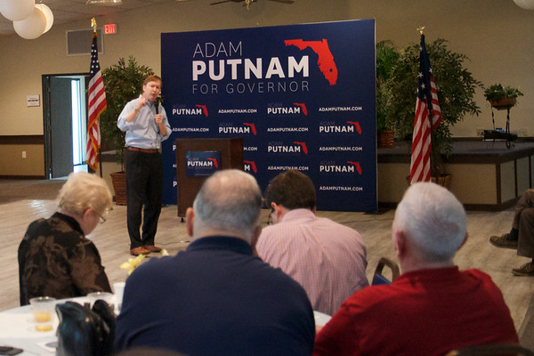 2017 Aug 23 Up and Adam Breakfast for Adam Putnam