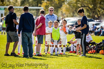 October 11, 2015 - Kingdom Soccer - U8 Boys
