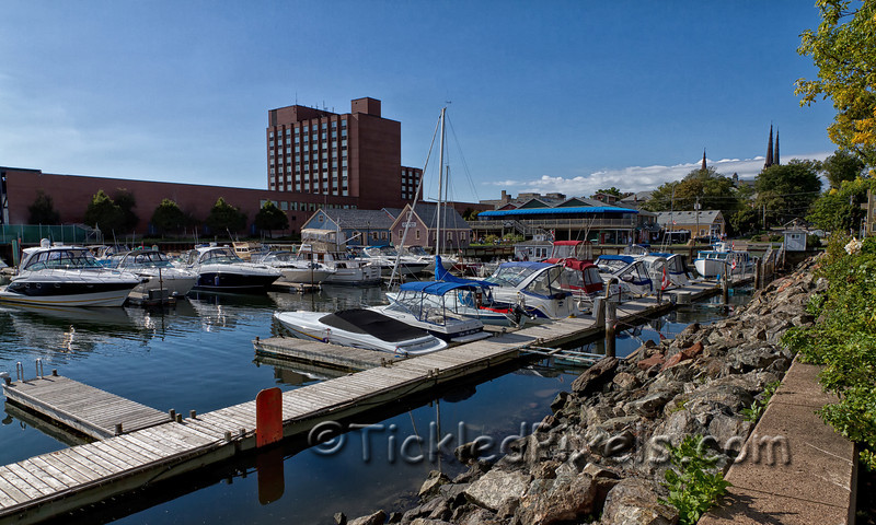 Peakes Quay from Confederation Landing, Charlottetown