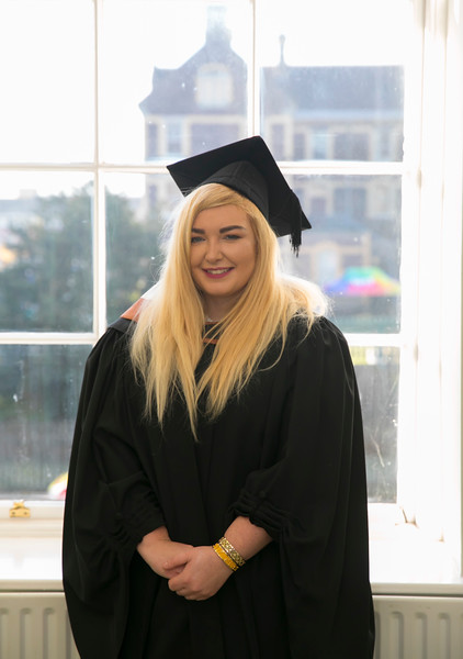 02/11/2018. Waterford Institute of Technology (WIT) Conferring Ceremonies 2018. Pictured is Sinead O'Condon Woodstown. Picture: Patrick Browne