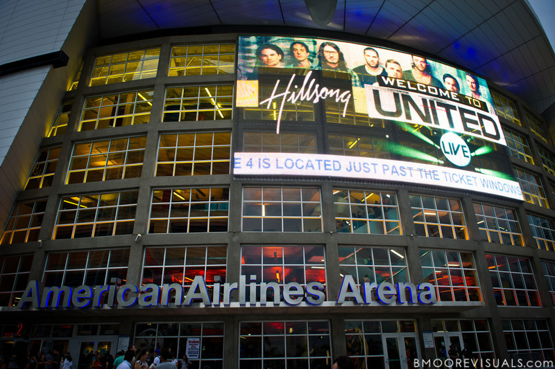 Hillsong United perform in support of Aftermath before a sold-out crowd at American Airlines Arena on August 6, 2011 in Miami, Florida