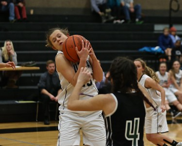 Outlaws  Girls Basketball vs Estacada  Sisters Holiday Tournament 12-28-15