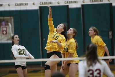 Homecoming Volleyball game, JV, Varsity