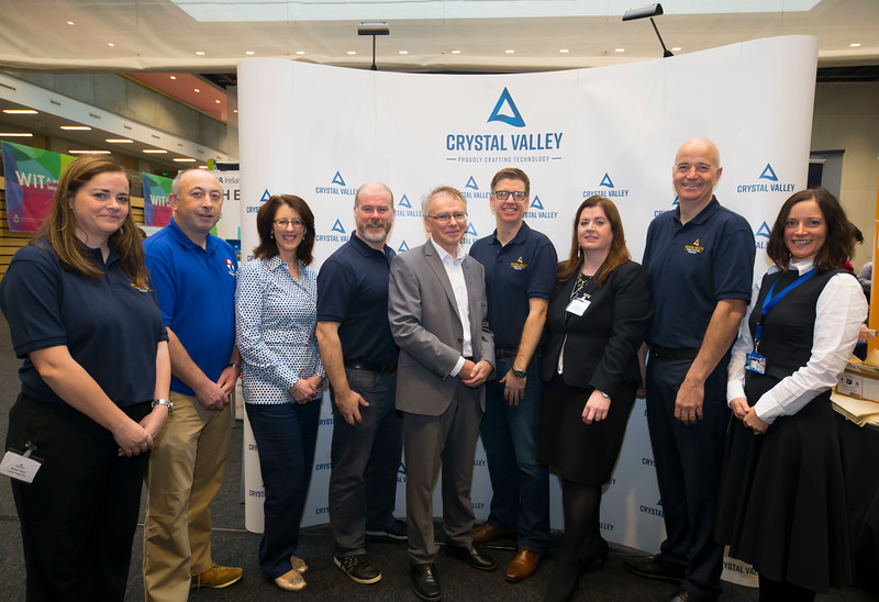 09/11/2017. Crystal Valley Tech Showcase at WIT Arena. Picture: Patrick Browne
