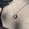 1.04ctw Victorian Rose Cut Diamond Pendant 16