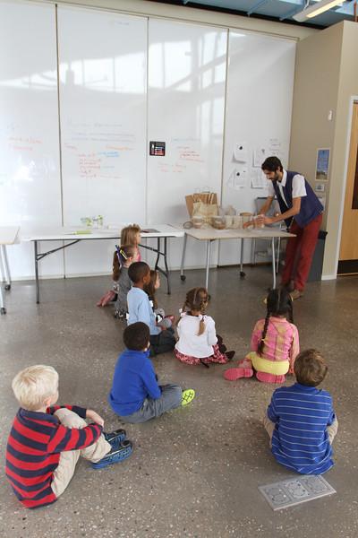 Kindergarten Learns about Breadmaking