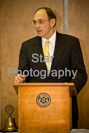 Dr. Phil Roe visits the Rotary Club