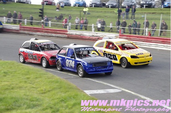 Stock Rods, Hednesford Hills Raceway, 13 March