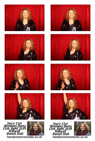 Jess's 21st Birthday Party at The Halwill Parish Hall 13-04-19
