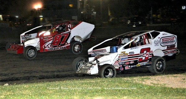 Cornwall Motor Speedway - 7/12/18 - Rick Young
