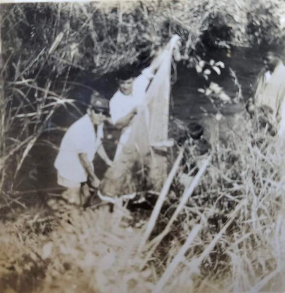 Pesca no Luembe