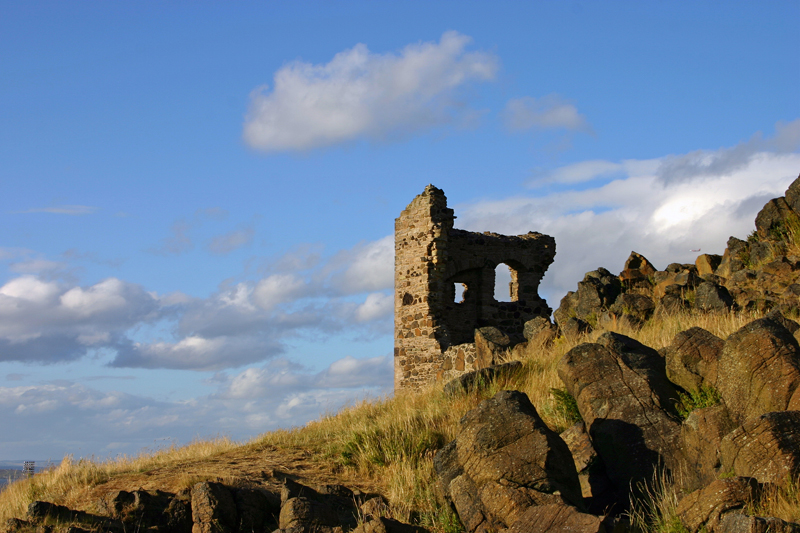 St. Anthony's Chapel ruins