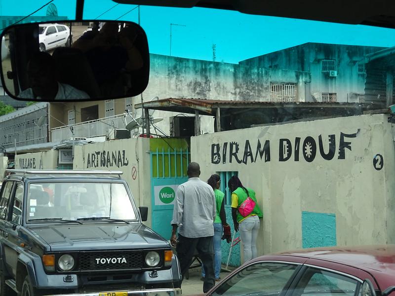 020_Libreville. Village Artisanal Biran Diouf.JPG