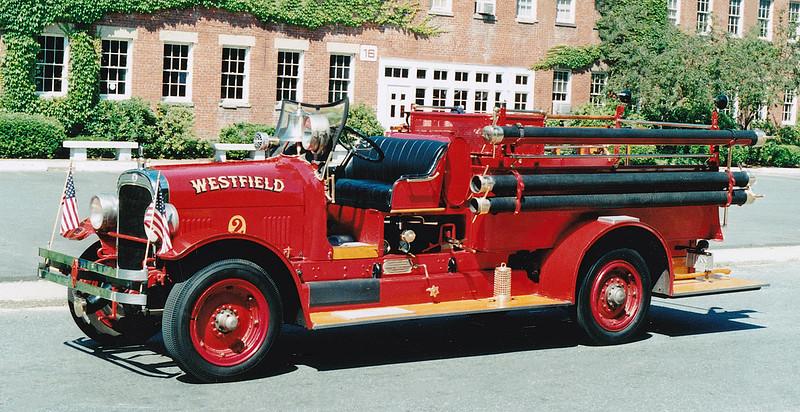 Retired Engine 2.  1930 Seagrave.  500 GPM