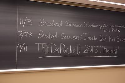 TEDxPurdueU Kickoff Event - Fall 2014