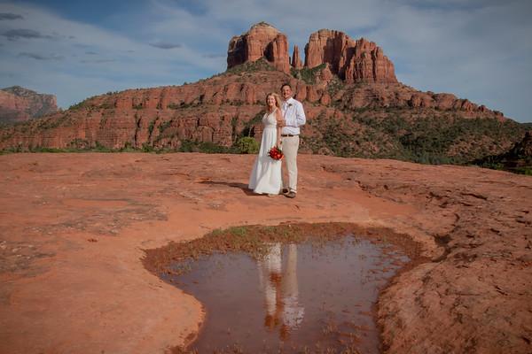 Janna & David's Sedona Wedding