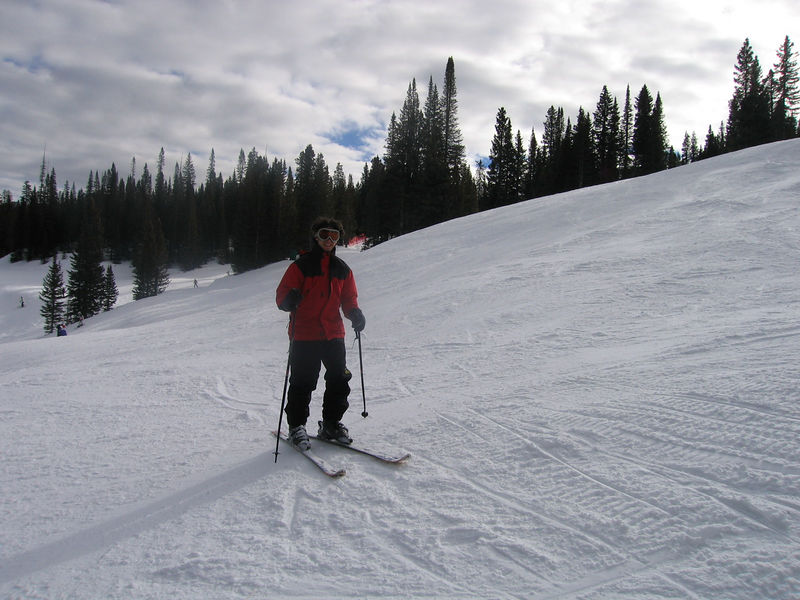Jeff on the slope