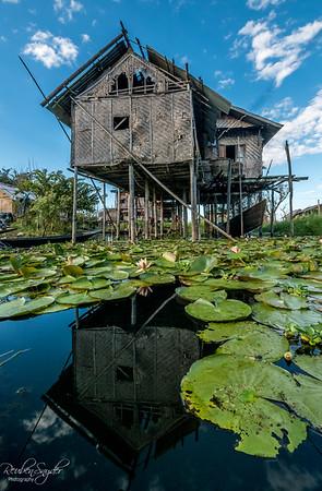 Inle Lake Floating Village