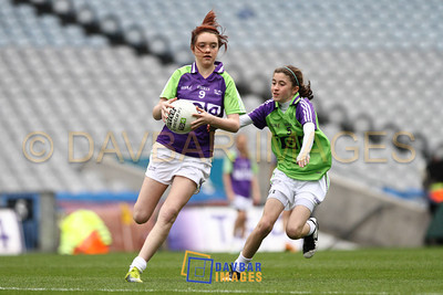 St Patricks Croke Park U13 Girls 2011