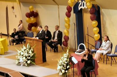 Mary's 8th Grade Graduation