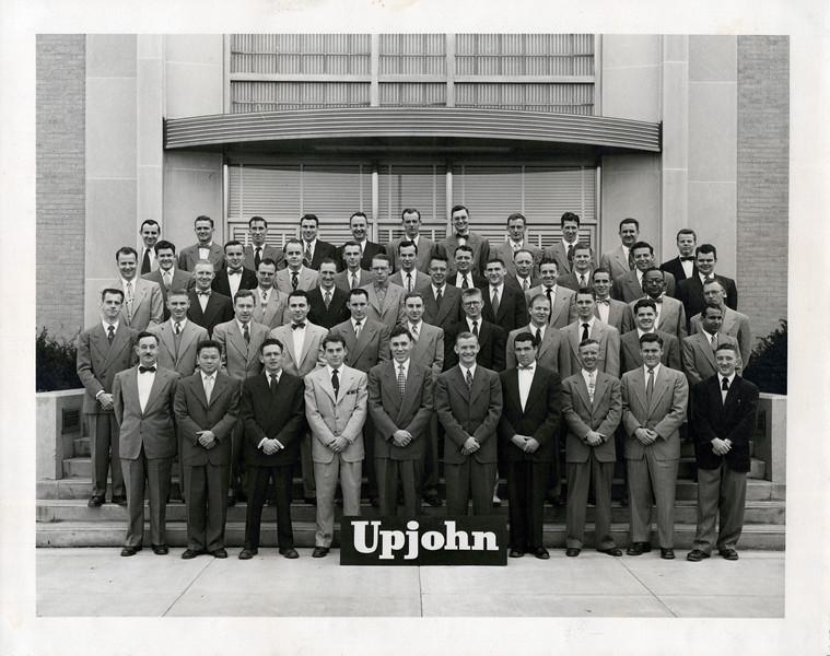 1940s Doc's vet class visits Upjohn.jpeg