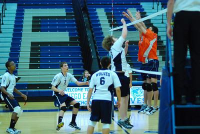 ( Soph. Volleyball) O.E. Vs  Oswego