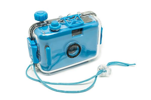 Blue Under Water Camera
