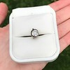 .73ct Late Victorian Antique Cushion Cut Collet Component 7