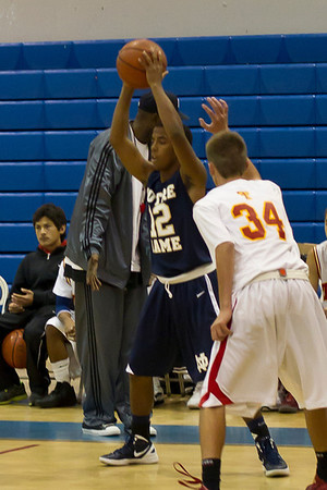 ND Basketball JV Taft 2011