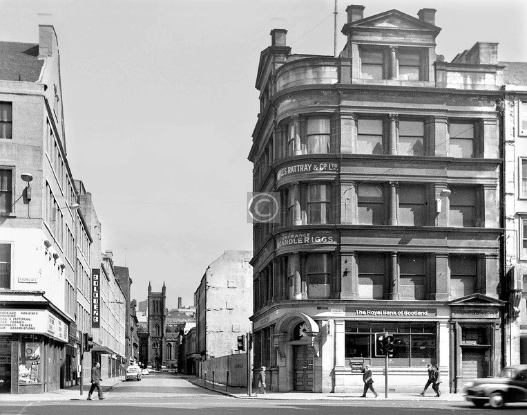 Candleriggs from King St.    July 1973