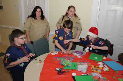 Various Pics as Cub Scouts